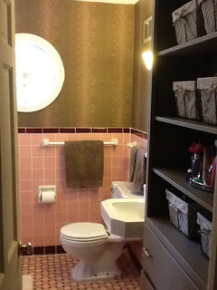 Stay Away From Pink And Burgundy Towels Etc Here Is A Pic Of My Bathroom