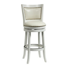 50 Most Popular White Swivel Bar Height Stools For 2019