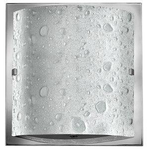 Single Bathroom Wall Light, Polished Chrome