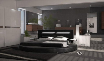 Contemporary Round Modern Bed New Homeowner