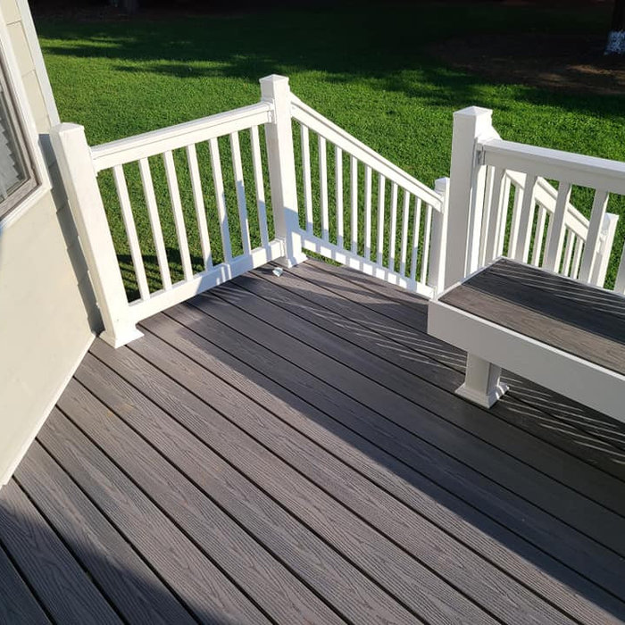 Newburgh Side Porch Remodel and Deck Extension