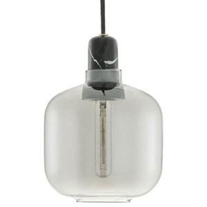 Amp Lamp, Smoke Black, Small