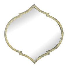Elisha Moroccan Wall Mirror, 35x35 cm