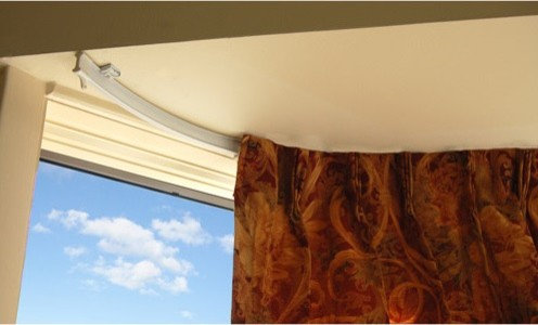 Bendable Curtain Rod for Bay Windows, Showers, RV's, Room Dividers ...