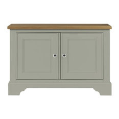 Somerdale Display Cabinet Base Unit, Rockford Grey