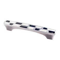 Lumino Checkered, Modern Cabinet Hardware Pull, 128mm
