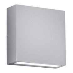 Thames LED Outdoor Wall Sconce, Light Gray