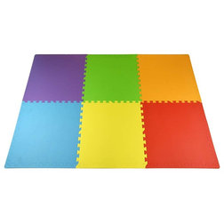 Contemporary Baby Gyms And Play Mats by FlooringInc