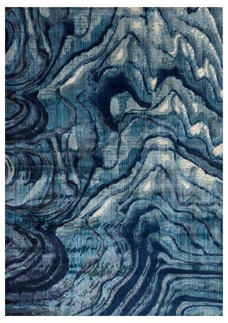Loloi Dreamscape Dm 13 Rug Indigo Blue Contemporary