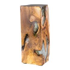 Leo Teak Decorative Pillar