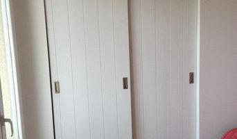 porte de placards coulissante