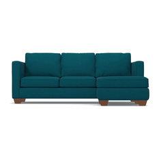 Catalina Reversible Chaise Sofa, Biloxi Blue