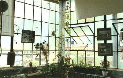 Salvage Spotlight: Warehouse Windows Become a Storage Screen