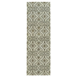 Mediterranean Hall And Stair Runners by Kaleen Rugs