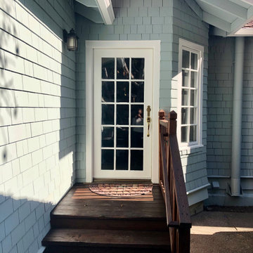 Fresh Coat and Deck Stain for Fairfax Craftsman Home