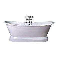 cast iron pedestal bathtubs houzz