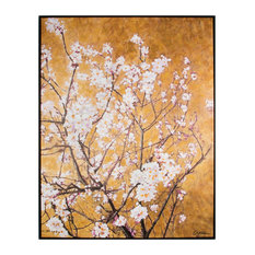 Graham & Brown - Oriental Blossom Framed Hpainted Cnvs - Prints & Posters