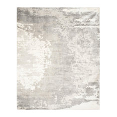 Safavieh Tibet Collection TIB519 Rug, Silver/Ivory, 8' X 10'