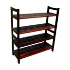Mahogany Veranda 4 Tiers Shoes Rack