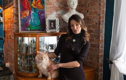 В гостях: Лофт, винтаж и семь окон в квартире в Смоленске