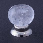 Rock Crystal Cabinet Knob