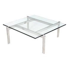 Clear Acrylic Coffee Tables Houzz - Clear acrylic coffee table