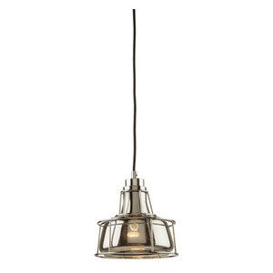 Artcraft Lighting Fifth Avenue 1-Light Pendant with Champagne Glassware Rose Gold