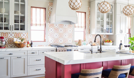 6 Attractive Pink Paint Colors for the Kitchen