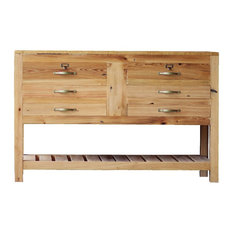 50-inch Reclaimed Wood Hand Crafted Buffet Table
