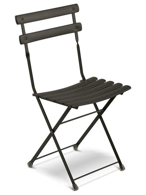 Arc En Ciel Klappstol, Svart - Udendørs spisebordsstole
