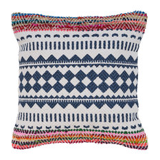 Boho Chevron Throw Pillow