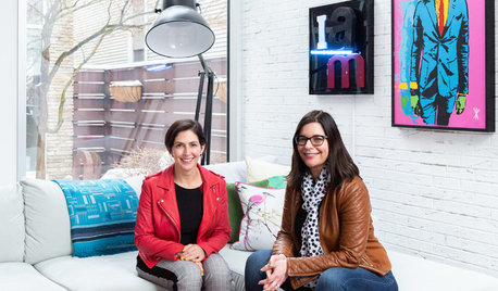 My Houzz: Pop Art and Joyful Colors in an Eclectic Chicago Home