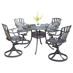Transitional Outdoor Dining Sets by Home Styles Furniture