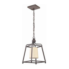 Crystorama Lighting 2240-DB Pendant Light, Dark Bronze