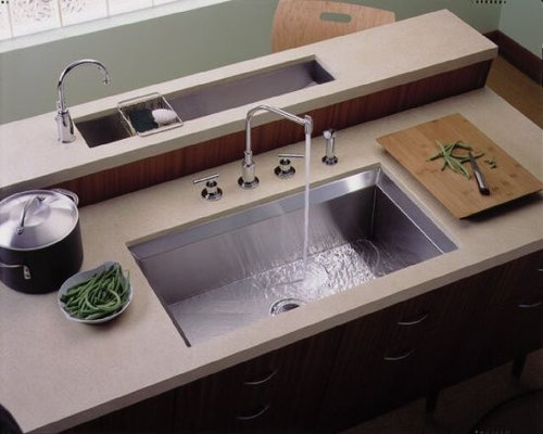 Undercounter Kohler Kitchen Sink   Kitchen Sinks