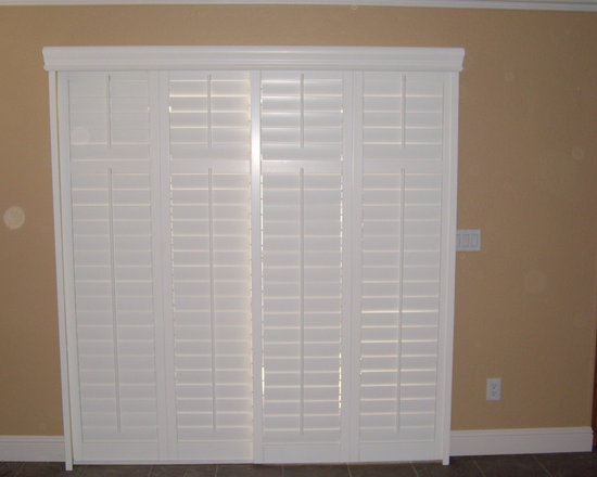 SaveEmail. Plantation Shutters For Sliding Glass Door. 44 Saves | 0  Questions. Sliding Shutters Modernize ...