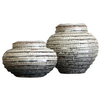 Devonee Jar Set in Antique Gray (Set of 2)
