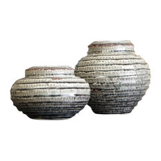 Devonee Jar Set in Antique Gray (Set of 2)