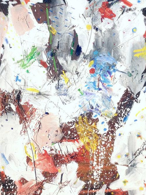 Une peinture abstraite agrandit votre int rieur for Peintre interieur