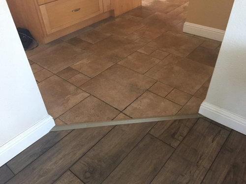 Transition Options Tile To Laminate, Transition Strips For Laminate Flooring