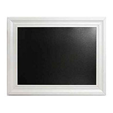 Linon Mdf And Chalkboard Chalkboard With Black And White Finish AMX-3024CHCRM-1