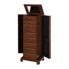 8 Drawer Large Jewelry Armoire