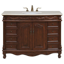 Victorian Bathroom Vanities And Sink Consoles by Elegant Furniture & Lighting