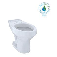 TOTO?? Rowan�?� Universal Height Elongated Toilet Bowl, Cotton White