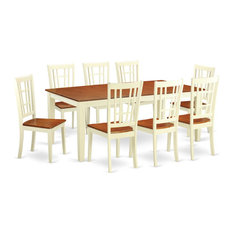9-Piece Dining Room Set Table And 8 Dinette Chairs