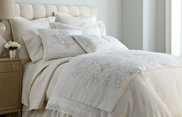 """King Duvet Cover with Lace Flange, 112"""" x 98"""""""