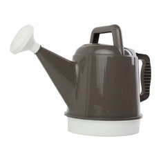 2.5 Gallon Deluxe Watering Cans, Set of 6, Peppercorn