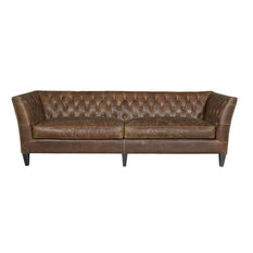 Universal Upholstery Curated 682511-706 Duncan Sofa, Chestnut