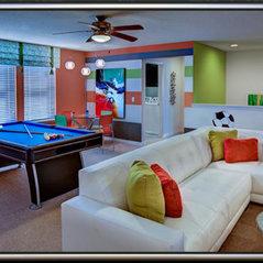 Stripe Game Room