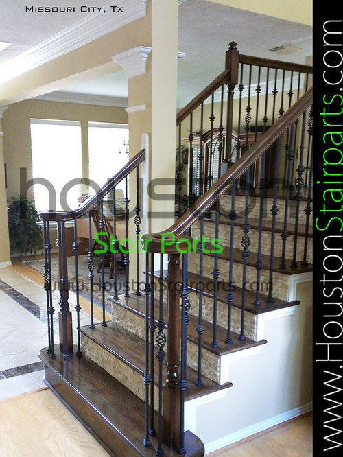 Delightful Stair Remodel Houston Stair Parts Stair Parts